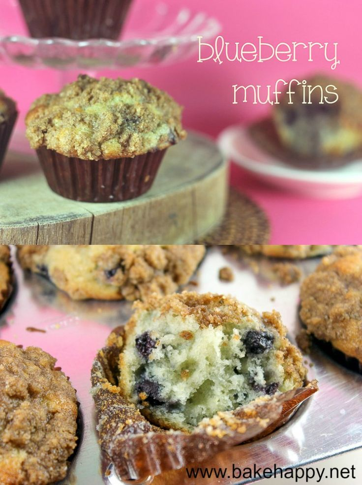Blueberry Muffins Using Blueberry Pie Filling For When