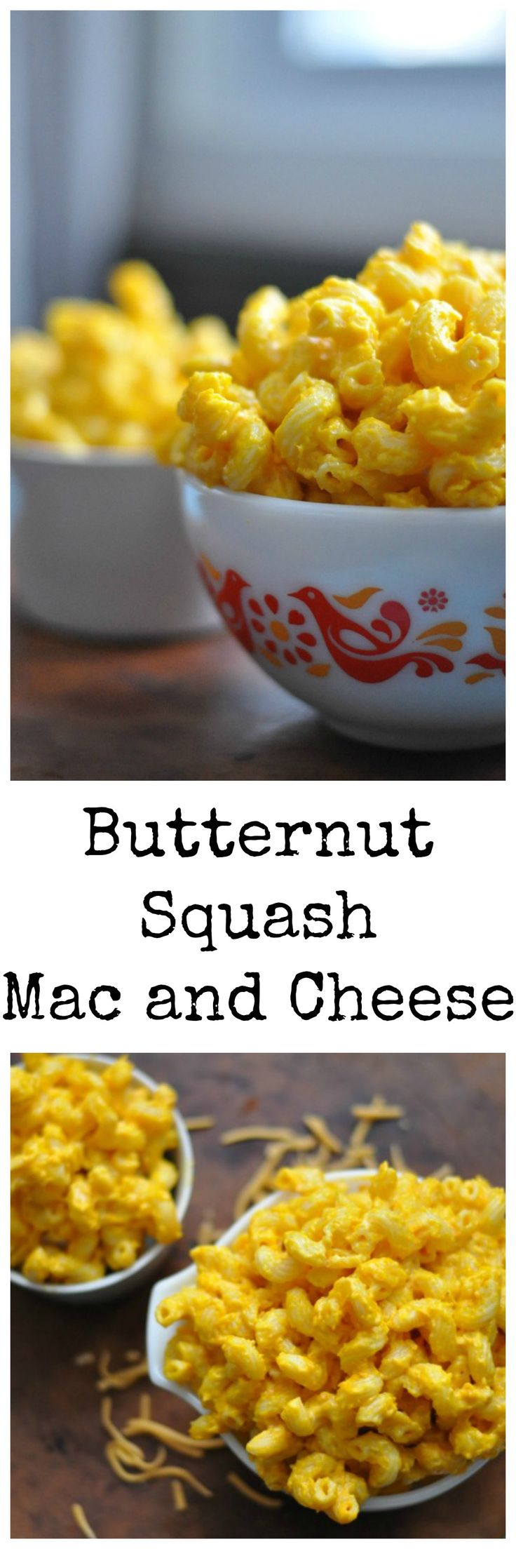 Simple Butternut Squash Mac and Cheese made on the stove or baked in the oven…