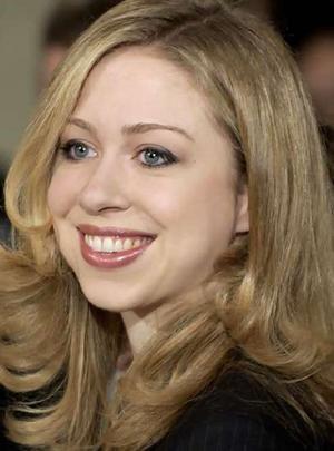 "Chelsea Clinton born in 1980.  Daughter of William Jefferson ""Bill"" and Hillary Clinton"