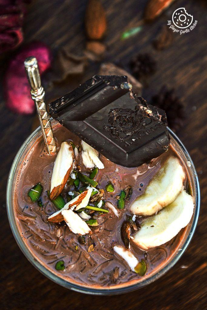 Creamy Chocolate Vermicelli Pudding