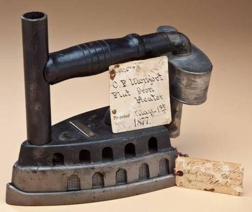 """Antique Irons"" Filled Pressing Needs | Fine Estate Sales"