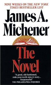 "james a michener photos | The-Novel-by-James-A-Michener  ""There are no insoluble problems, only time consuming ones."" A James A. Michener Quote."