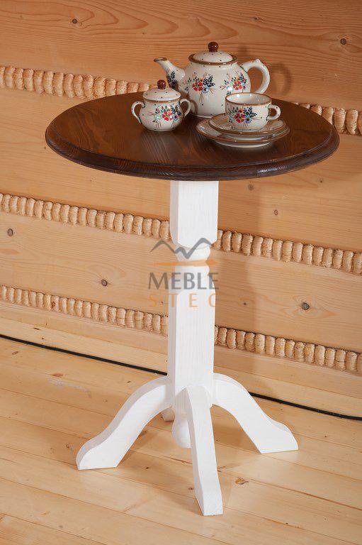 Herbaty? Rustykalny dwukolorowy stolik kawowy. #rustykalne #dwukolorowe #kawowy
