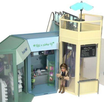Amazon Com Lil Bratz 2003 Fashion Mall In Original Box