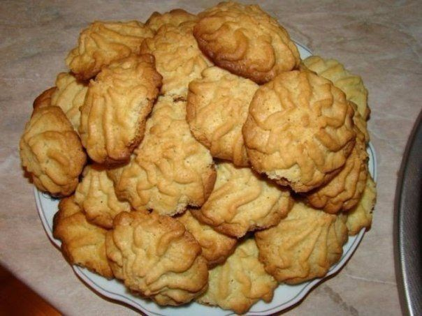 Crumbly cookies