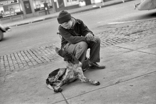 Best Friends: 1938: November 1938, Photo Archives, Best Friends, The Farms, Shorpy Historical Photo, Omaha Nebraska, John Vachon, 35Mm Nitrat, Farms Security