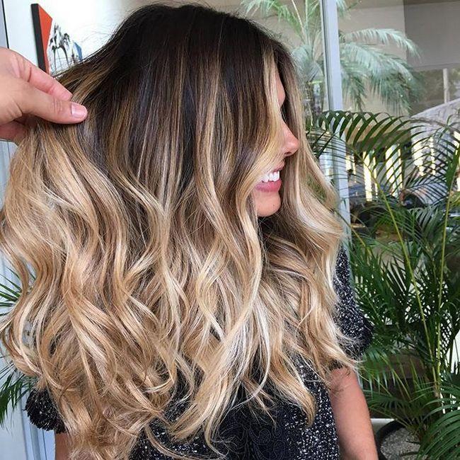 nice Окрашивание балаяж на длинные волосы (50 фото) — Модные идеи и прически Читай больше http://avrorra.com/okrashivanie-balayazh-na-dlinnye-volosy-foto/