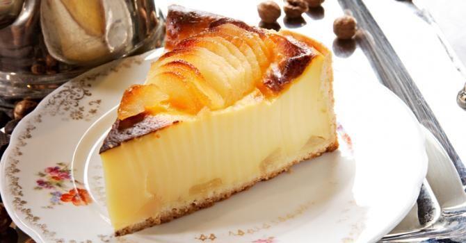 Recette de Flan aux pommes au zestes de citron fait maison. Facile et rapide à réaliser, goûteuse et diététique. Ingrédients, préparation et recettes associées.