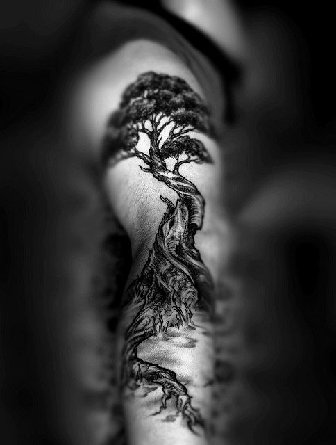 Tree tattoo. #tattoo #tattoos #ink