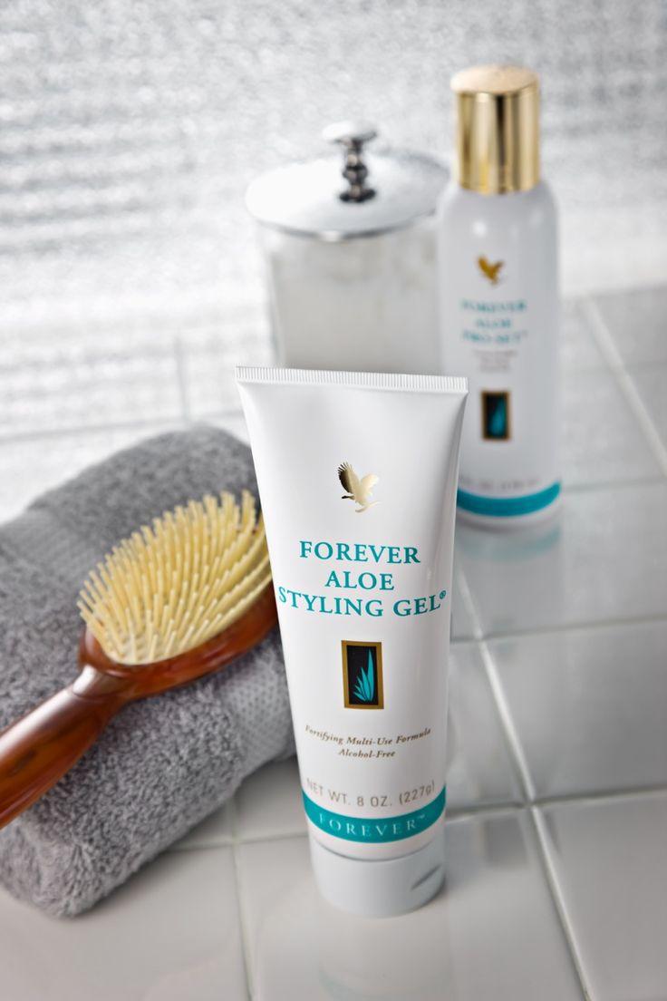 Forever Aloe Styling Gel με αλόη, για μαλλιά με τέλειο κράτημα! Σε μεγάλο σωληνάριο 227 g, μόνο €17,62 στο http://www.foreveryoung.gr/products?pid=985