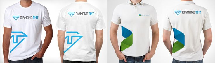 Tmt bars manufacturing company tshirt design by ivory for Work polo shirts with logo