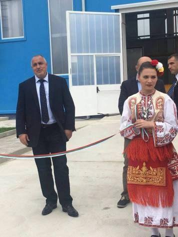 За ЧРД Борисов откри газова станция край Петрич (галерия + аудио)