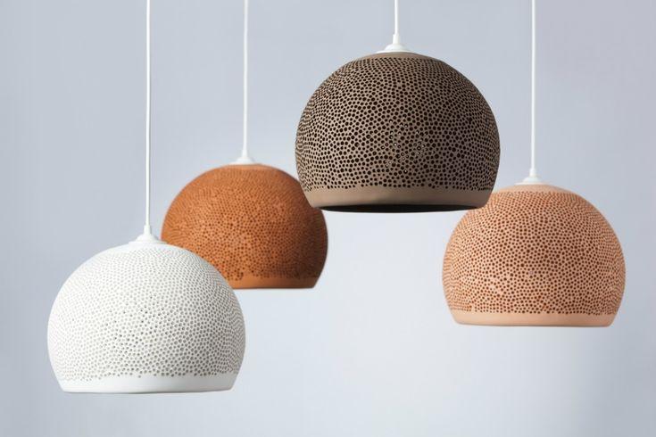 Pott terracotta light shades