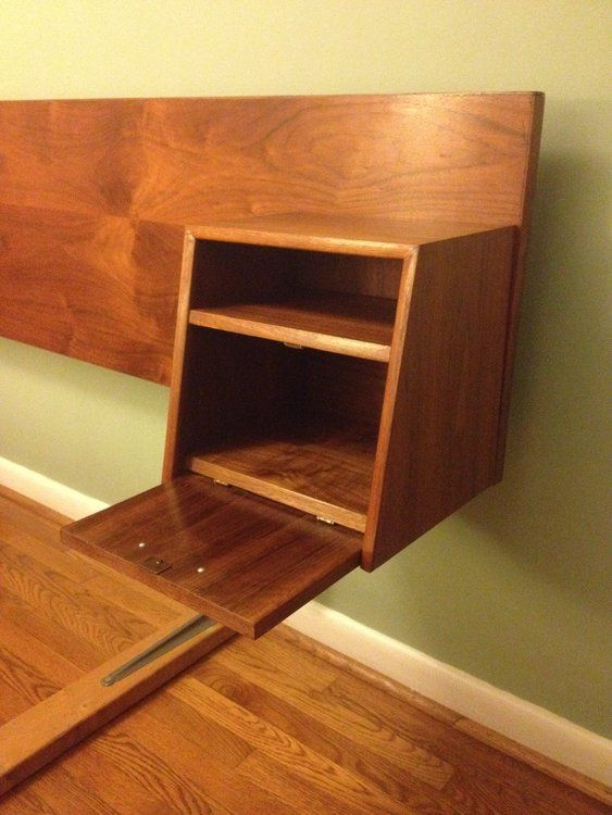 MCM Floating Headboard & Nightstands in Montgomery County, Chevy Chase ~ Krrb Classifieds