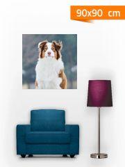 Fotoplátno 90x90 cm - fotky vytištěné na malířském plátně,  budou ozdobou vašeho pokoje nebo kanceláře, hodí se i jako luxusní dárek