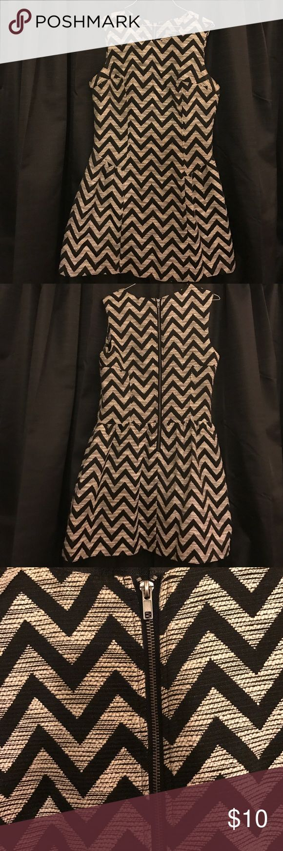 Chevron print fit & flare dress Wedding season is around the corner & this is the perfect dress for it, or even a graduation, or a family gathering. This dress can be worn to just about any special occasion. Forever 21 Dresses
