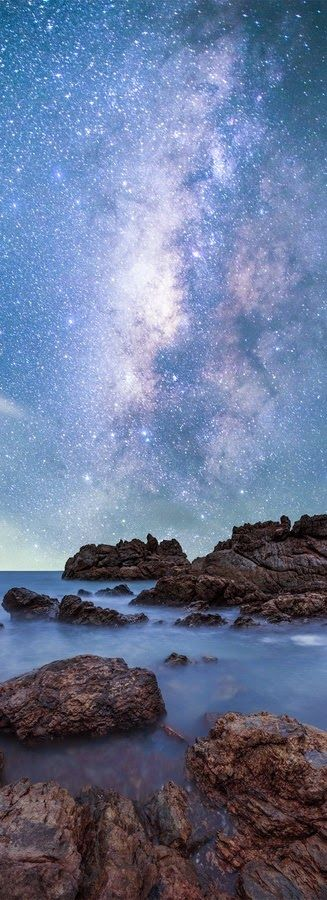 Starry Seascape