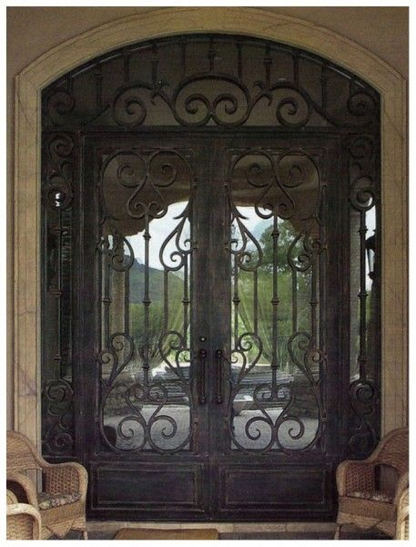 High Quality Of Iron Font Gates Door