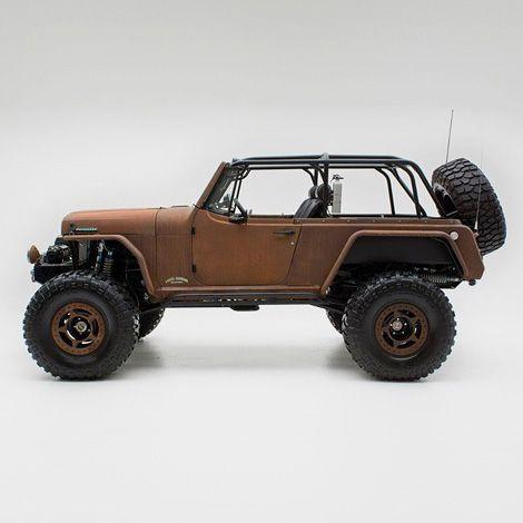 jeep commando custom