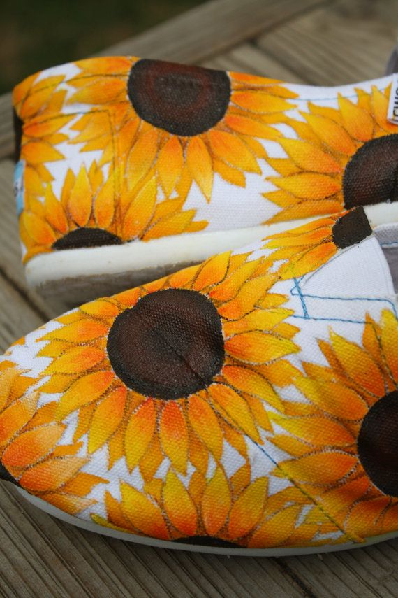 Full Sunflowers Custom Acrylic Painting for by SomethingFromTheSun