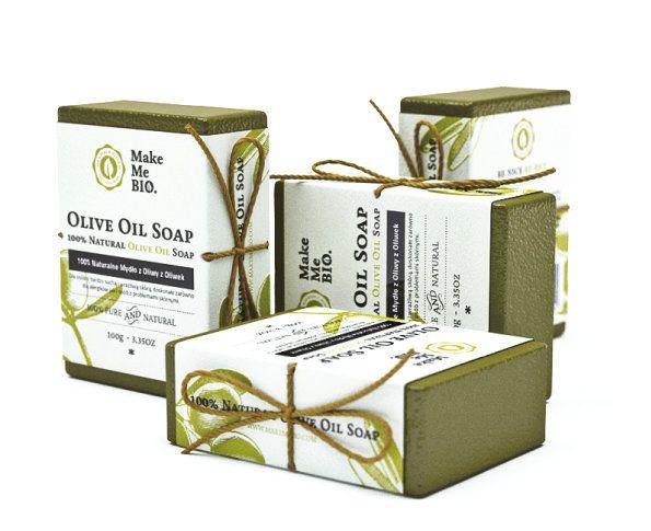 100% Naturalne Mydło z Oliwy z Oliwek 100 g - Nieprzyzwoicie naturalny sklep dla kobiet lubiących siebie