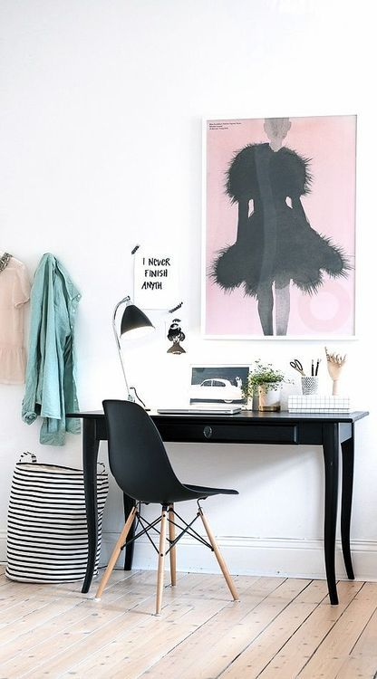 decoração para home office minimalista