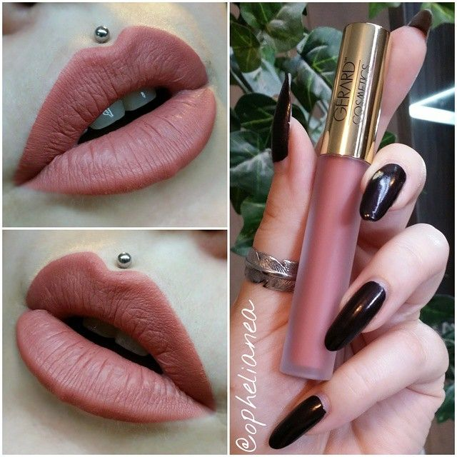 Gerard Cosmetics Hydra Matte Liquid Lipstick :: SERENITY ...