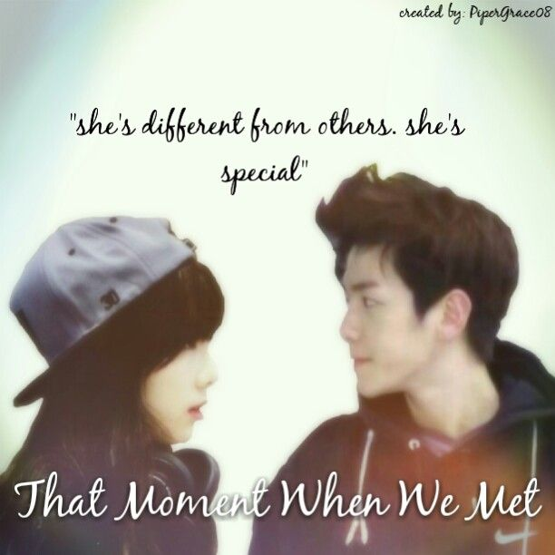 That Moment When We Met  Baekhyun, Taeyeon  Edited by me
