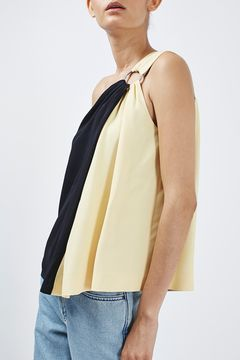 Asymmetric Ring Top By Boutique