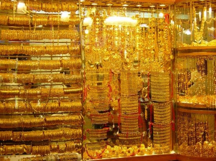 Dubai gold shop #Gold