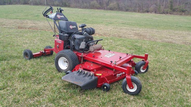 """300 Garden Walk: 2013 Exmark 60"""" Turf Tracer Walk Behind Lawn Mower"""