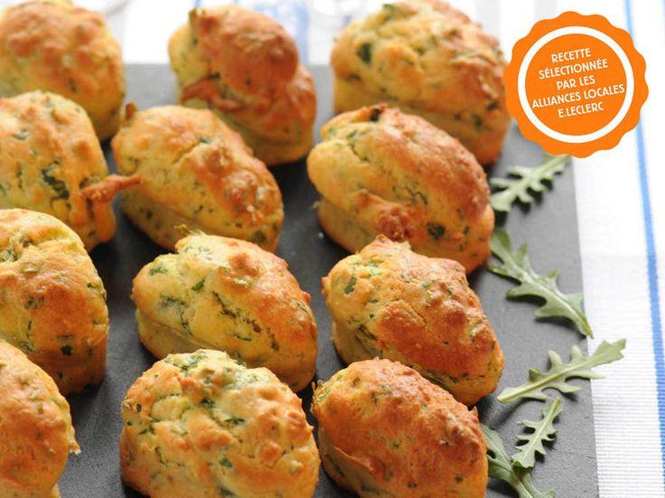 Découvrez la recette Cupcakes chèvre courgette sur cuisineactuelle.fr.