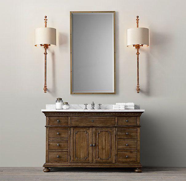 St. James Extra-Wide Single Vanity Sink New House Pinterest