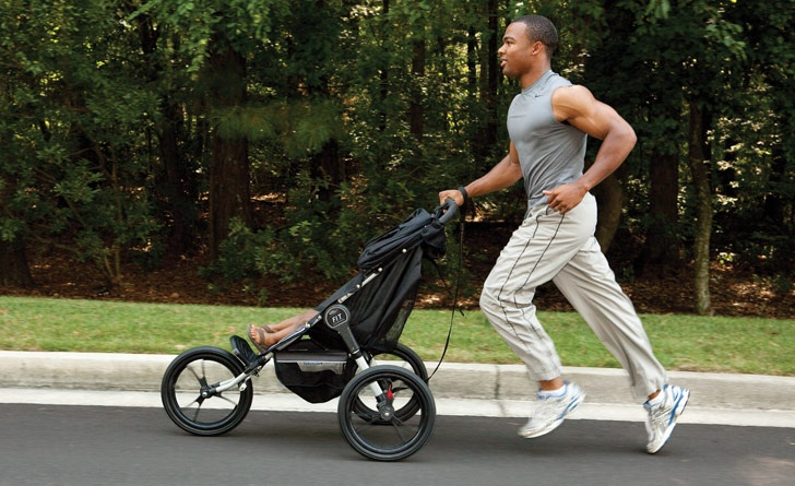 """Yeah. The """"FIT"""" jogger stroller. Baby strollers"""