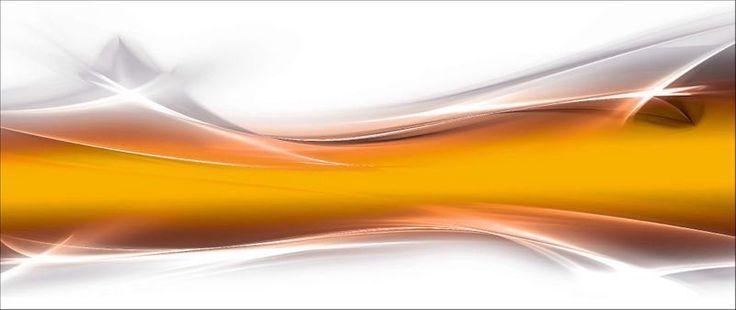 Küchenrückwände »Designus:Kreat. Element Gold für Ihr Art-Design«