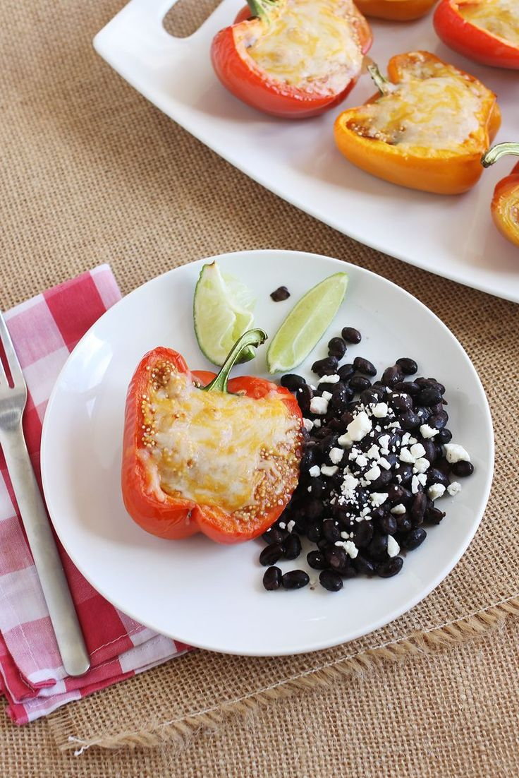 Quinoa Stuffed Bell Peppers.