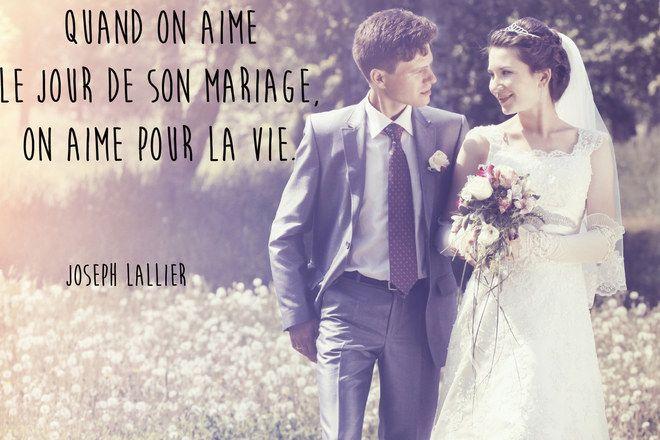 Citation mariage de Jospeh Lallier