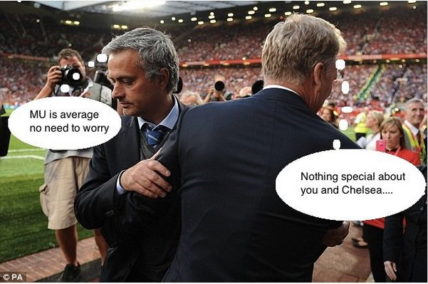 What Mourinho and Moyes said after the game