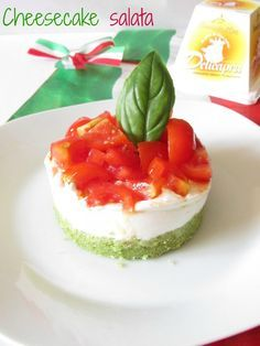 Cheesecake tricolore… forza Italia!