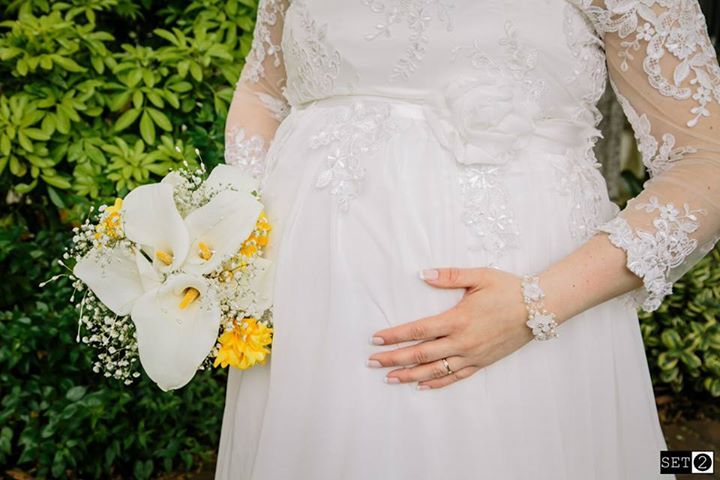 Maternity Wedding Dress By Katleen Amazonas Fashion