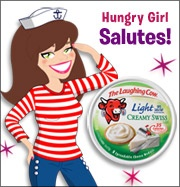 Yee-haaa! It's another edition of Hungry Girl Salutes! Today we pay homage to the world's giddiest farm animal -- the one, the only... The Laughing Cow, and her Light Creamy Swiss cheese wedges. Read on for a bazillion recipe ideas, tips, tricks, and so much more...