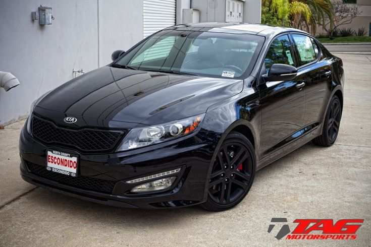 Tag Motorsports Blog Kia Optima Black Out My Style