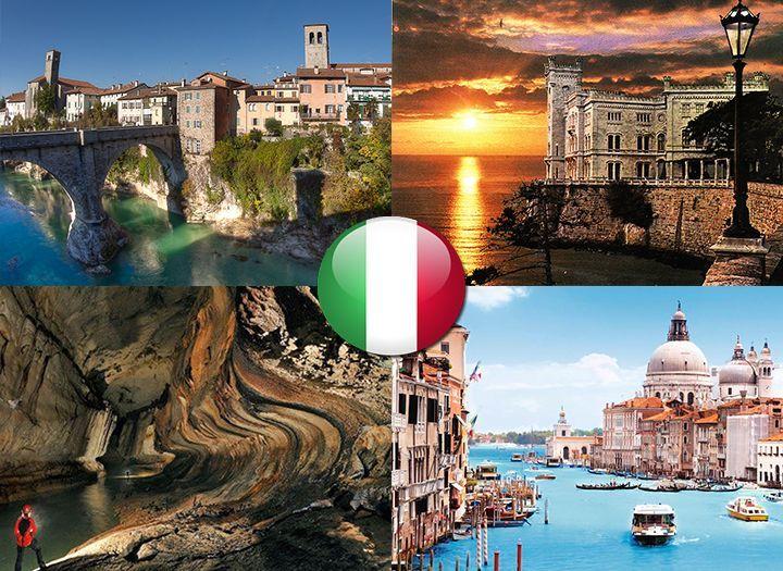 Mai utazás Belföld Kupon - 36% kedvezménnyel - Mai utazás Belföld - Észak-Olasz kastélyok romantikus buszos utazás! 4 nap 3 éjszaka Trieszt, Ravenna, Rimini felkeresésével, 3*-os szállodai elhelyezés reggelivel 1 főnek 54.900 Ft helyett 43.900 Ft. Most fizetendő 5.600 Ft..