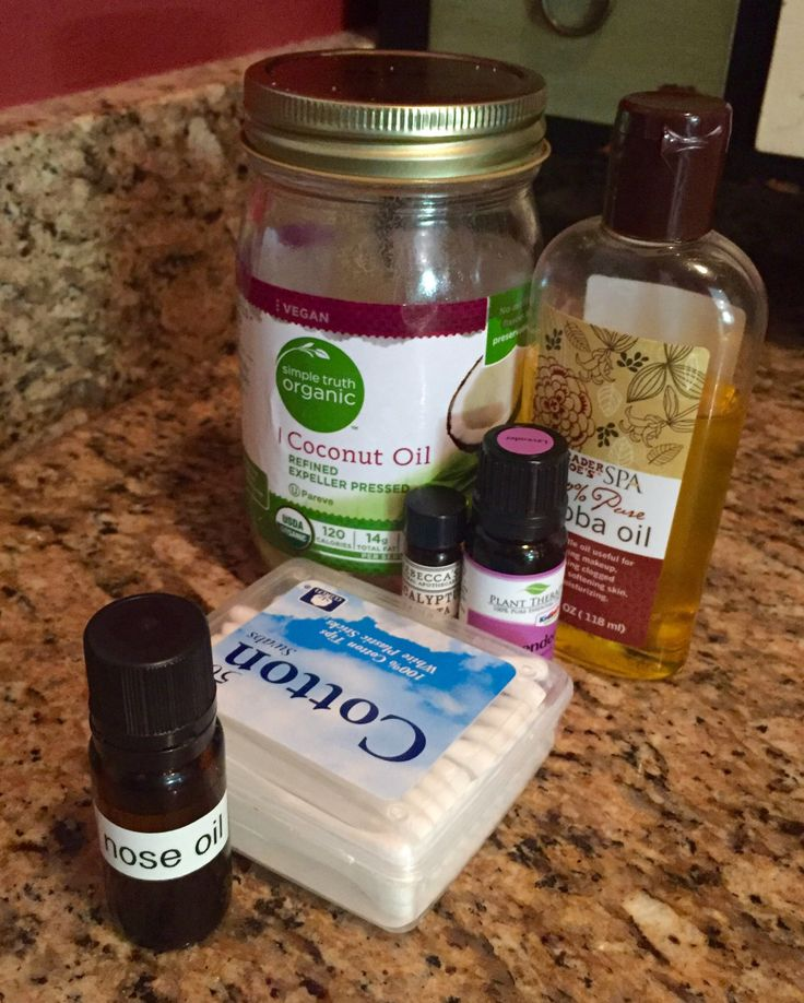 Daughter has been having a tough time this summer with nose bleeds, so I went looking for a dry-nose treatment that could help her. Here's what we're doing. | Hilda's Desert Garden | dry nose oil nostrils DIY