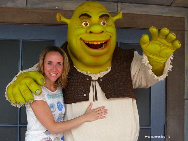 Alice Mistroni e Shrek