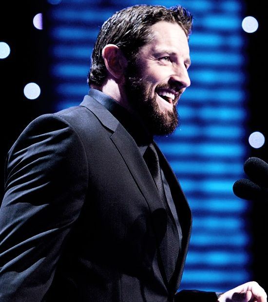Wade Barrett at the WWE Hall of Fame Ceremony