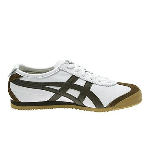 buy online bc148 eee90 Asics OT Mexico 66 White/Dark Brown HL202-0128 ...