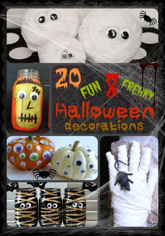 cheap scary halloween decorations ideas