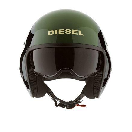 Diesel - Helmets - HI-JACK back green