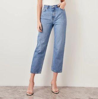 Right jeans blue high waist right jeans blue high waist